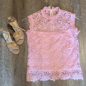 Lace dress top